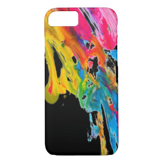paint splatter color colors class brush stroke pap iPhone 8/7 case