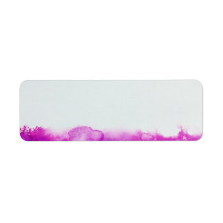 paint splatter colors address craft label