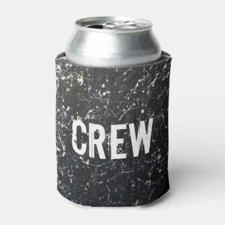 Paint Splatter CREW | Charcoal and White