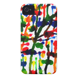 Paint Splatter iPhone 4/4S Case