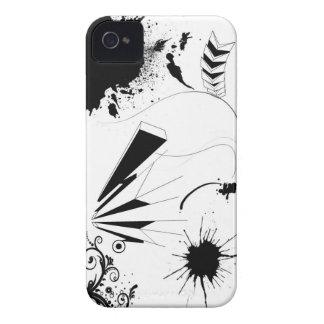 paint splatter iPhone 4 case
