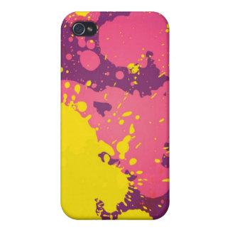 Paint Splatter - iPhone 4 Case