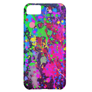 Paint Splatter iPhone 5C Case