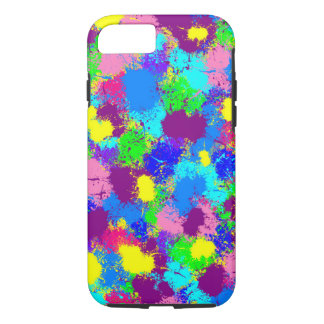 Paint Splatter iPhone 8/7 Case
