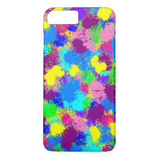 Paint Splatter iPhone 8 Plus/7 Plus Case