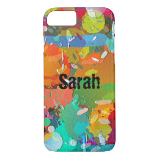 Paint Splatter iPhone Case Customize