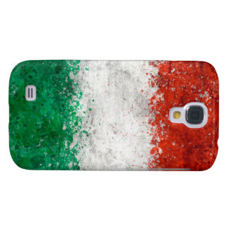Paint Splatter Italian Flag Galaxy S4 Case