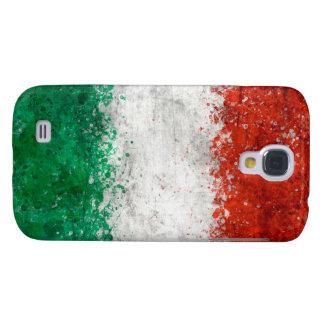 Paint Splatter Italian Flag Samsung Galaxy S4 Cover