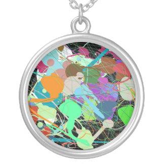 Paint Splatter Necklace