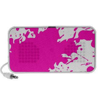 Paint Splatter Notebook Speaker