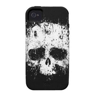 Paint Splatter Skull iPhone 4 Case
