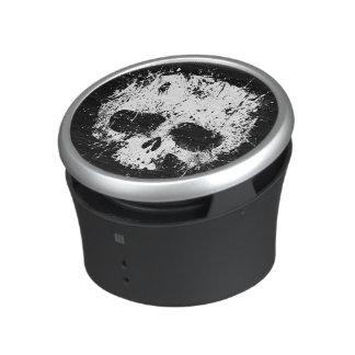 Paint Splatter Skull Speaker