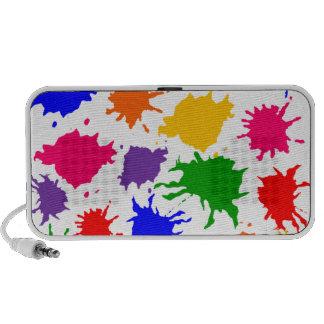 Paint Splatter Laptop Speaker