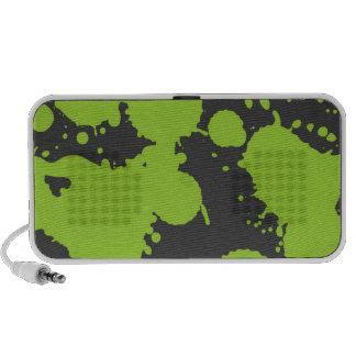 Paint Splatter Travelling Speakers