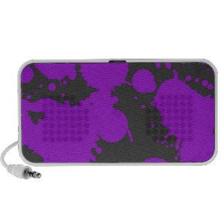 Paint Splatter iPhone Speaker