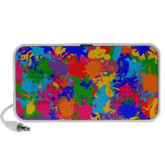 Paint Splatter Travel Speaker