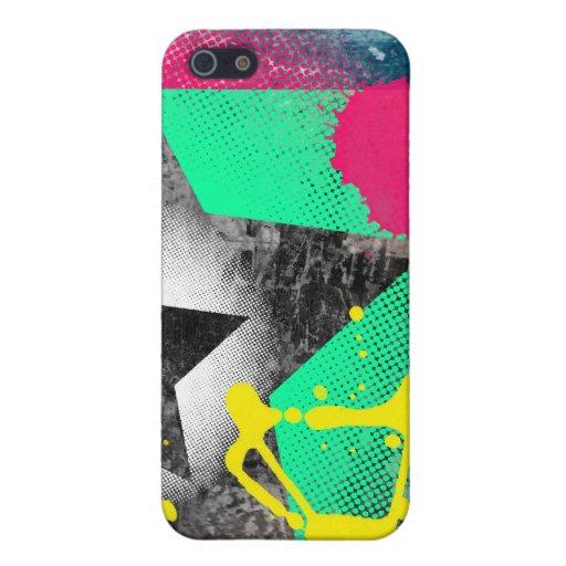 Paint splatter starz case iPhone 5 case