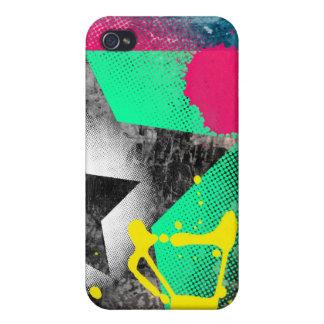 Paint splatter starz case case for iPhone 4