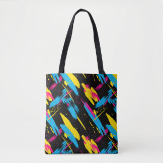 Paint Splatter Tote Bag