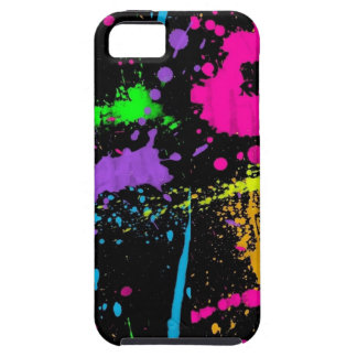 Paint Splatters iPhone 5 Case