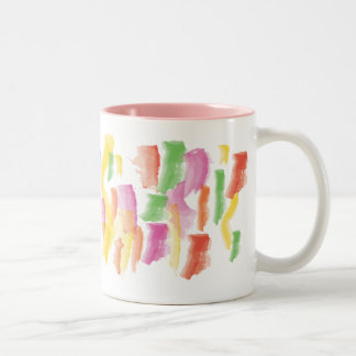 Paint Stained Mug