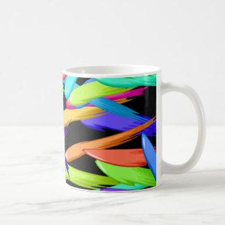 Paint Streaks In A Rainbow Of Colors Coffee Mug