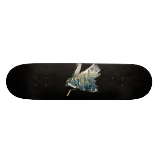 Paint the City Skate Board
