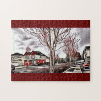 Paint the Neighborhood  Red Jigsaw Puzzle