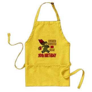 Paint The Town 30th Birthday Gifts Apron