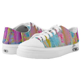 Paint the Town Happy Feet Shoes Printed Shoes