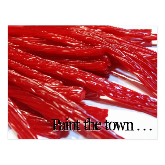 Paint the Town! postcard