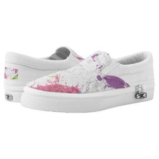 Paint Walk ZIPZ® shoes Printed Shoes