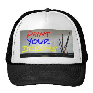 """Paint Your Dreams """"Keep on Truckin"""" Cap Trucker Hat"""