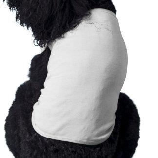 Paint Your Own Borzoi Dog Pet Clothing
