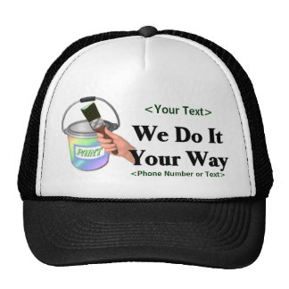 Paint Your Way - Customize Hats