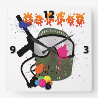 Paintball - Baller Wall Clock