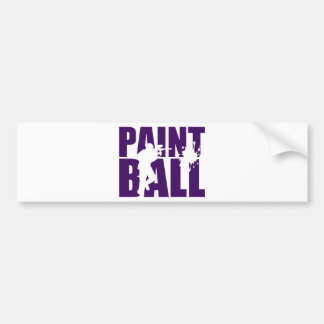 Paintball Bumper Sticker
