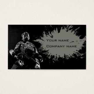 Paintball business card