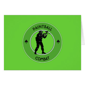 Paintball Combat Card
