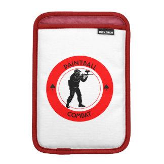 Paintball Combat iPad Mini Sleeve