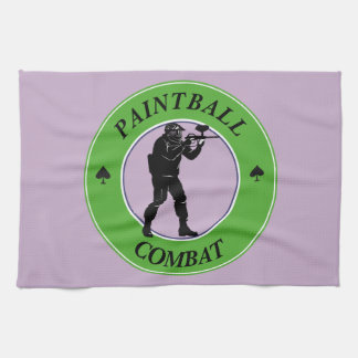 Paintball Combat Tea Towel
