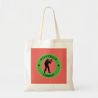 Paintball Combat Tote Bag