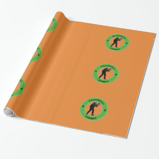 Paintball Combat Wrapping Paper