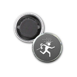 Paintball Icon 3 Cm Round Magnet