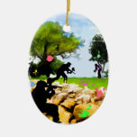 Paintball in the Spring Christmas Ornament