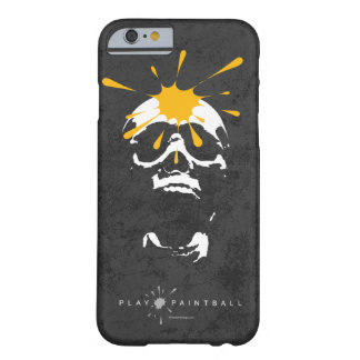 Paintball Skull Barely There iPhone 6 Case