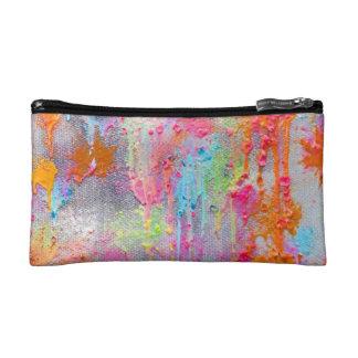 Paintball Splatter Cosmetic Bag