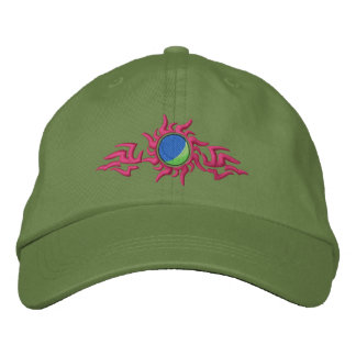 Paintball Tribal Embroidered Hat