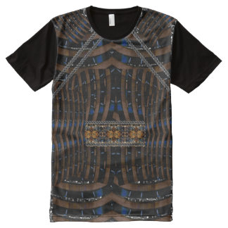 Paintball Warrior Armor Laser Tag Street Style All-Over Print T-Shirt