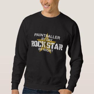 Paintballer Rock Star by Night Sweatshirt